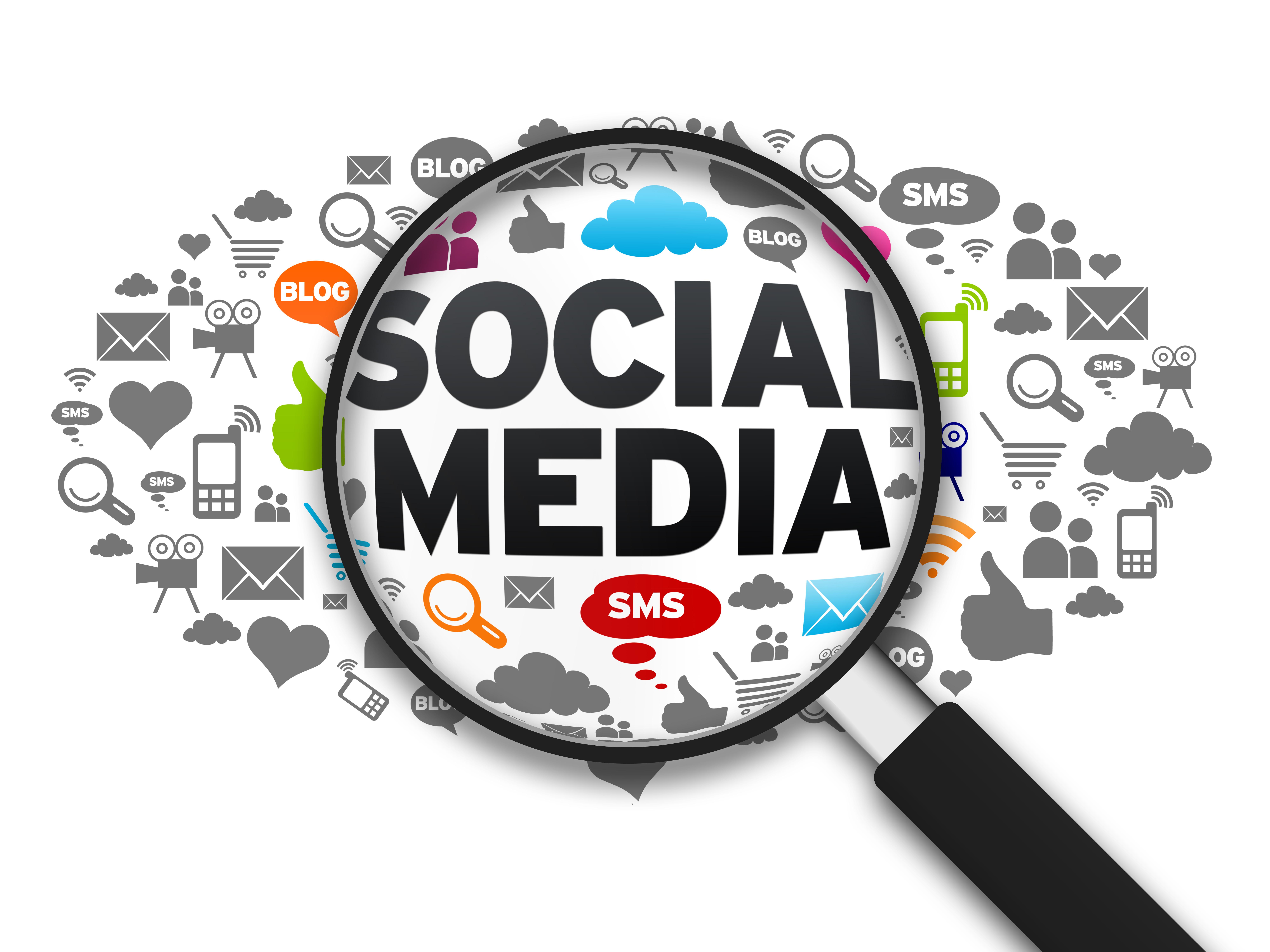 computer repair social media